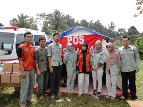 Posko Merapi 2010